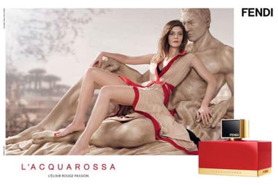 Chiara Mastroianni, égérie du nouveau parfum Fendi