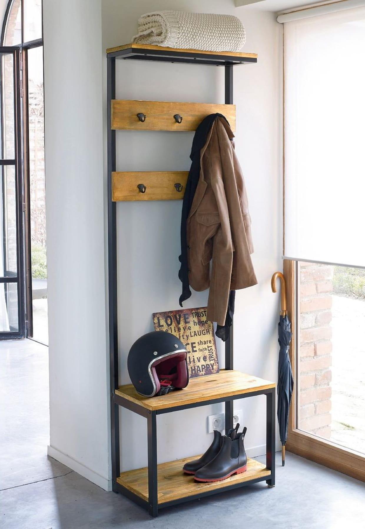 banc d 39 entr e hiba par la redoute. Black Bedroom Furniture Sets. Home Design Ideas