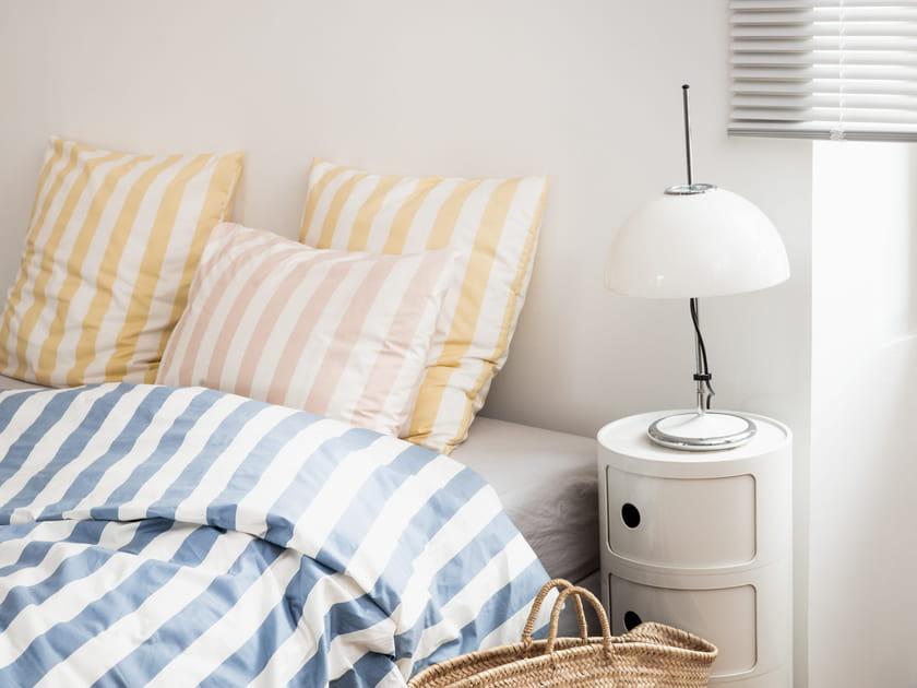 L'objet du désir: la parure de lit rayée Bonsoirs