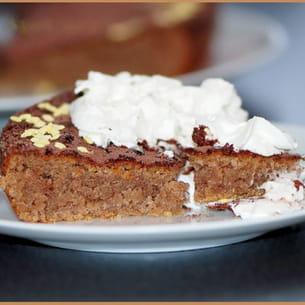 gâteau moelleux à la crème de marron