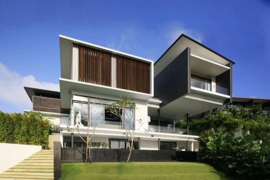Maison moderne et unique