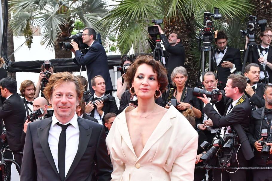 Festival de Cannes 2017: Jeanne Balibar, fascinante en Jacquemus