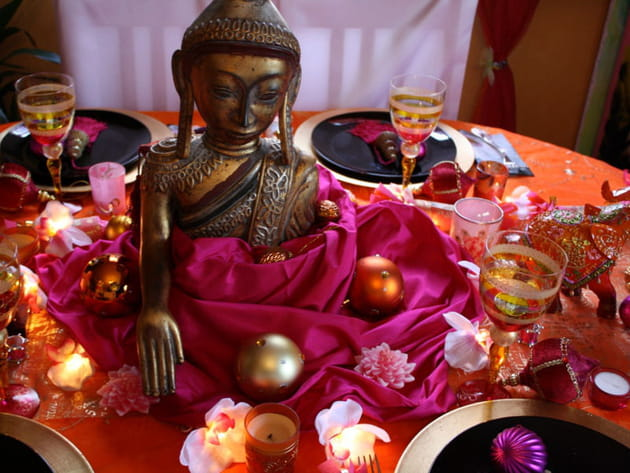 Table de Noël Bollywood
