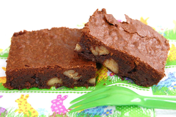Brownie double noix