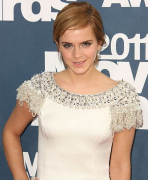 emma watson lors des mtv movie awards en 2011