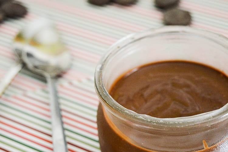 Crèmes onctueuses au chocolat noir de Christophe Felder