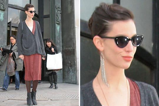 Fashion week : les street looks des défilés parisiens PAP automne-hiver 2011-2012 19