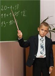 pourquoi est-il nul en maths, alors que ses capacités en logique sont au top ?