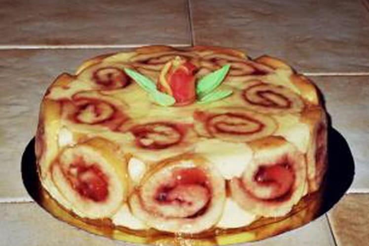 Gâteau roulé Konakry