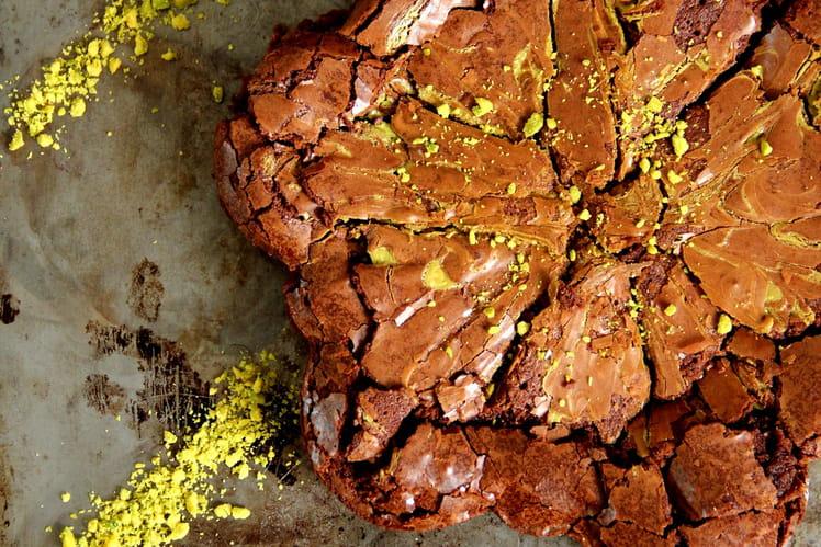 Brownie à la pistache