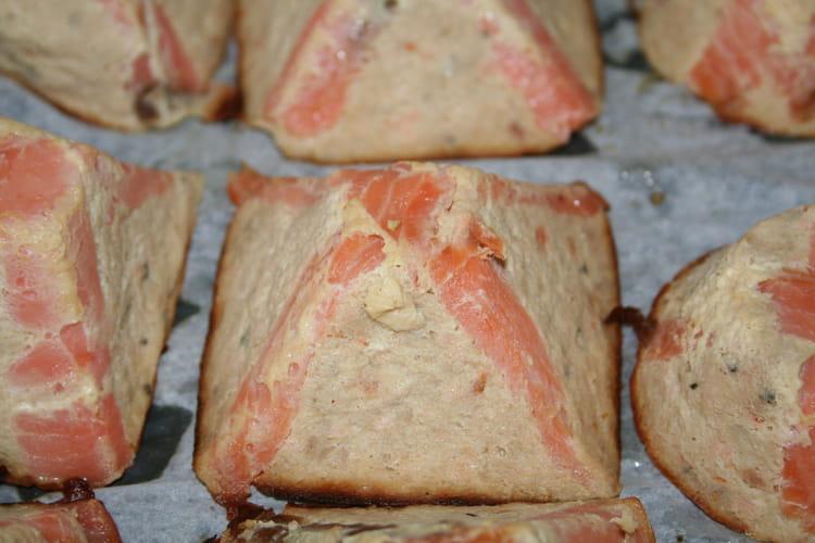 Pyramide de saumon
