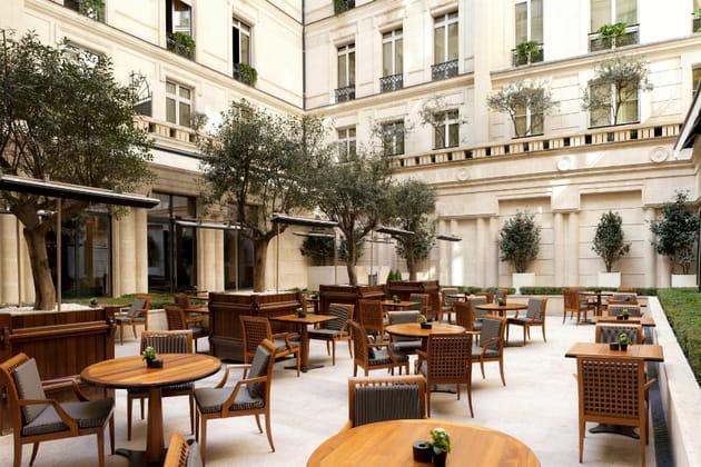 La terrasse du Park Hyatt Paris - Vendôme