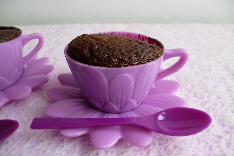 Mugcake hyperprotéiné au café et au psyllium