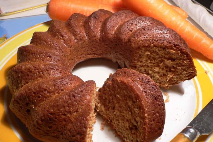Carrot cake à l'huile de noix et à l'orange