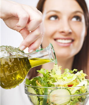 bien que préférable au beurre, une huile reste une huile, donc est quand même