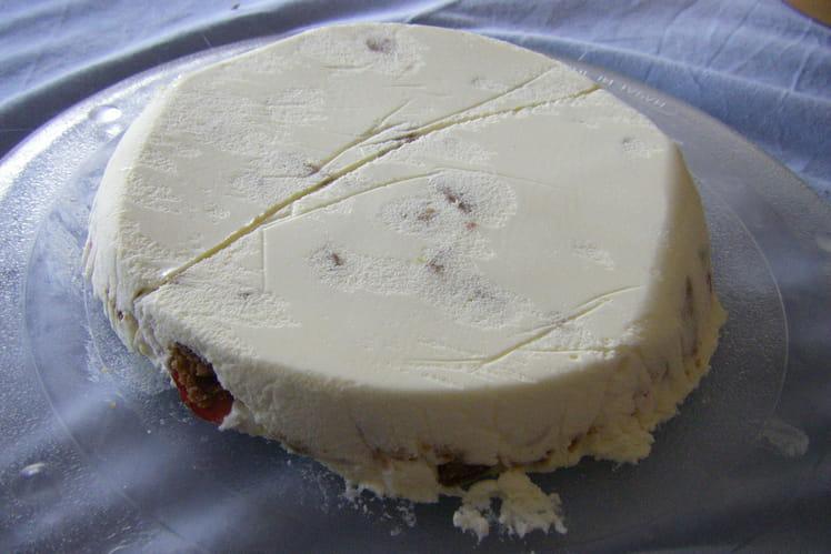 Crème de mascarpone aux fraises