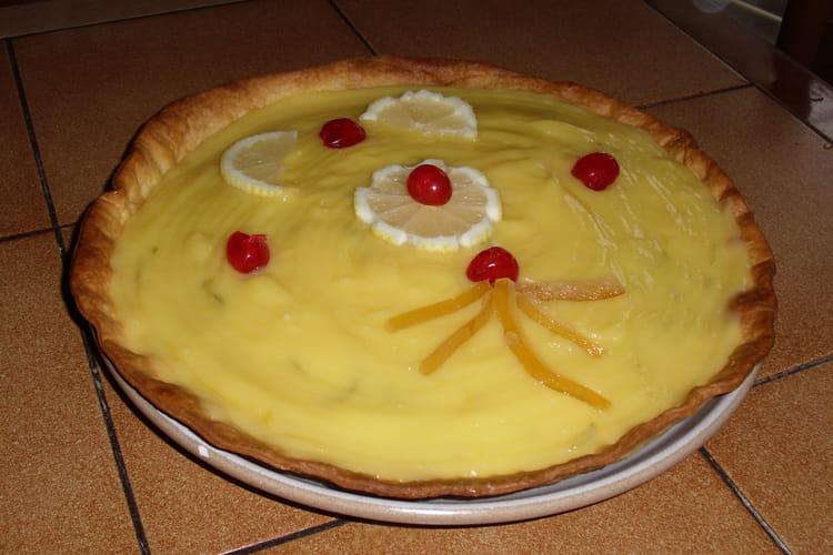 Tarte au citron crémeuse