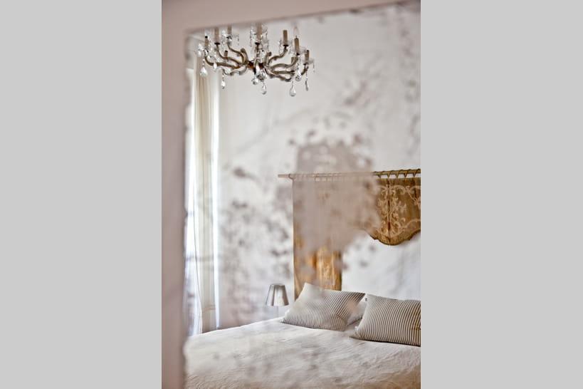 Chambre romantique : photos