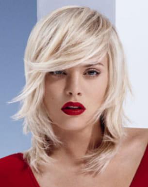 coloration 2013 cheveux blonds platine - Coloration Platine