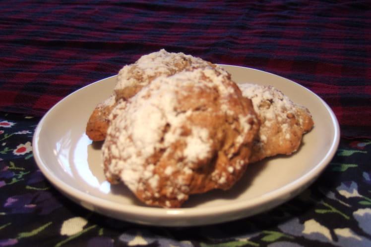 Cookies aux pépites de chocolat et à la cannelle