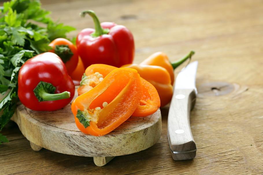 Comment éplucher facilement les poivrons?