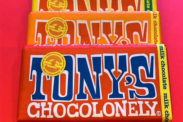 Chocolat engagé Tony's Chocolonely