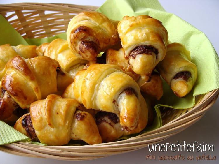 Exceptionnel Recette de Croissants au nutella : la recette facile NA56