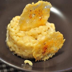risotto de coquillettes aux cèpes