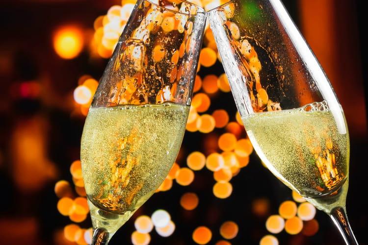 Champagne très effervescent