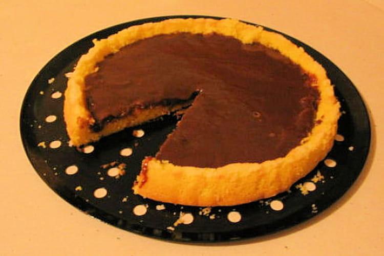 Gâteau aux Carambars et chocolat