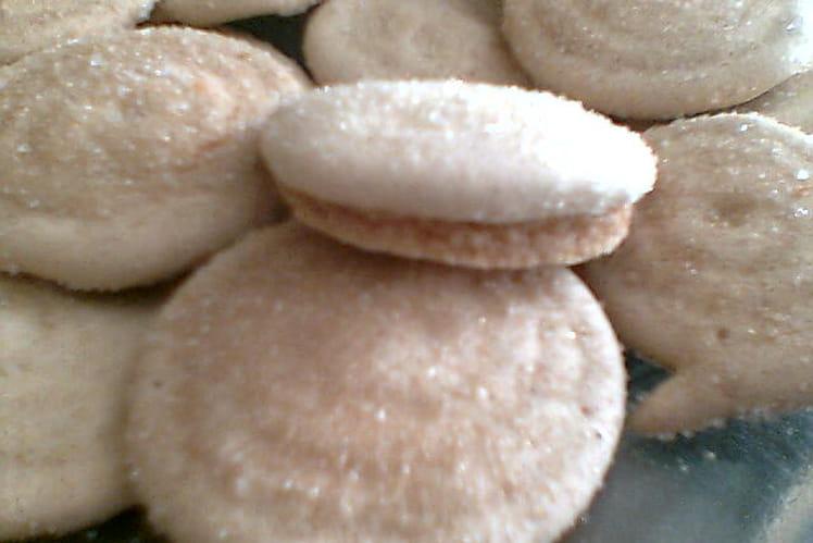 Biscuits croquants à la réglisse
