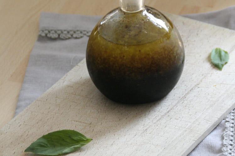Vinaigrette miel-basilic