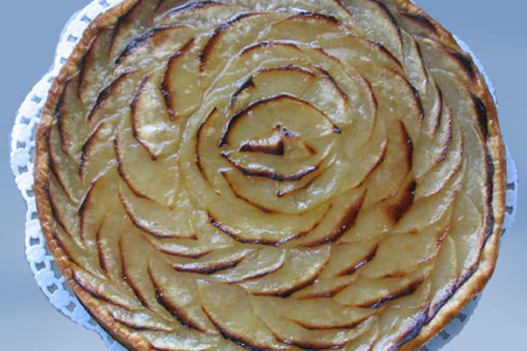 Tarte feuilletée aux pommes et aux épices