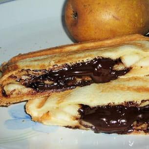 croque poires-chocolat