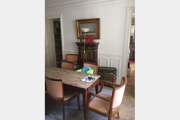 Avant travaux : l\'ancienne salle à manger
