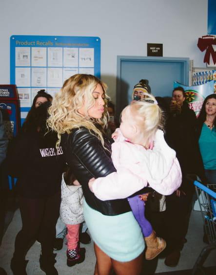 Beyoncé : l'amie des enfants