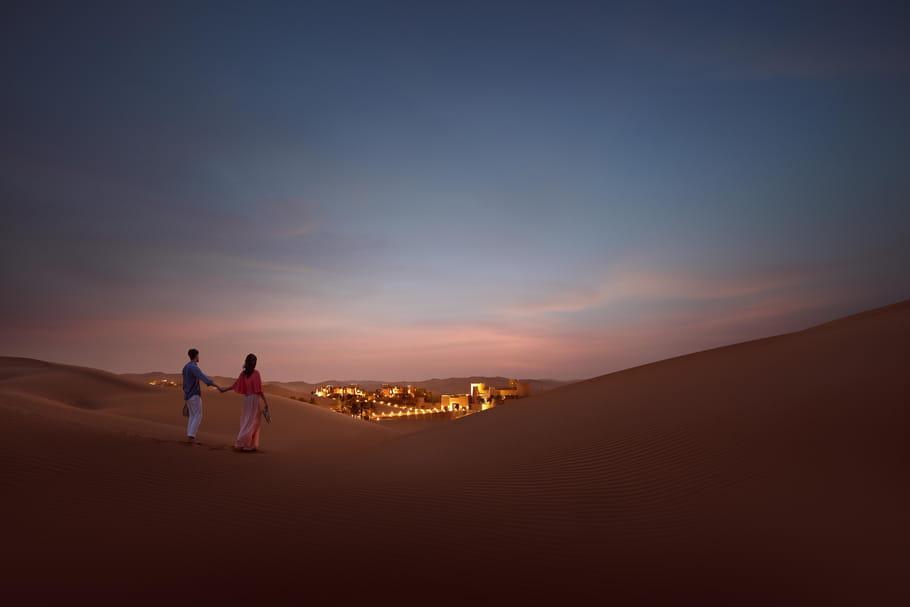 Le désert du Rub al-Khali, des dunes à perte de vue