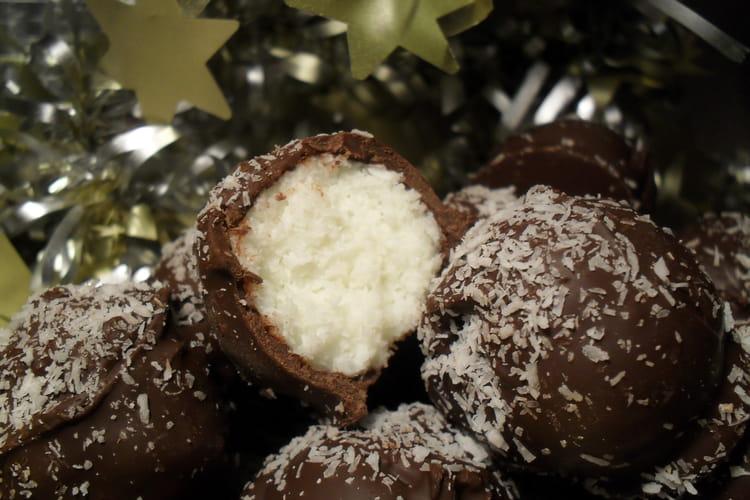 Bouchées à la noix de coco, light ou sucrée
