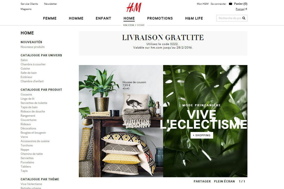 acheter chez h m home. Black Bedroom Furniture Sets. Home Design Ideas