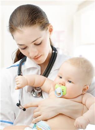 la bronchiolite touche environ 30 % des nourrissons.