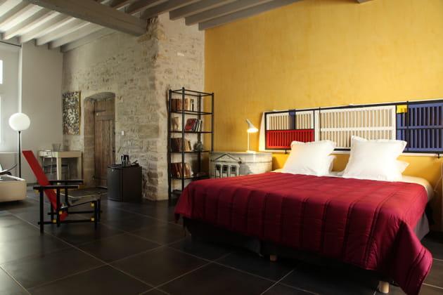 Une chambre esprit Mondrian