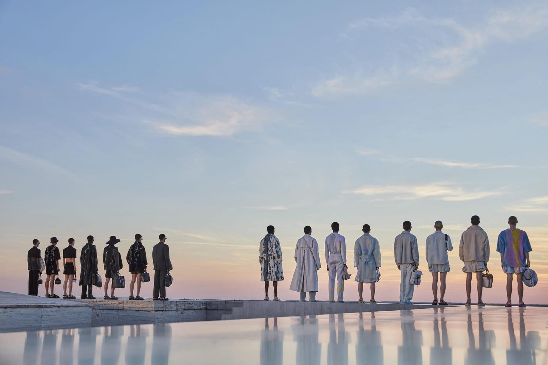 Fashion week: la mode homme fait son show pour le printemps-été 2022