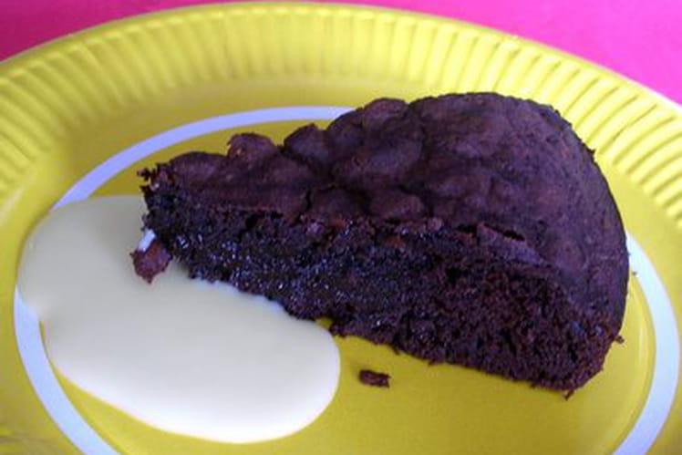 Moelleux au chocolat et sa crème anglaise