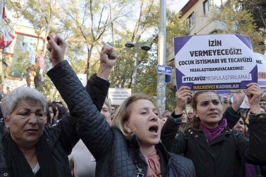 Un violeur pourra épouser sa victime pour éviter la sanction en Turquie