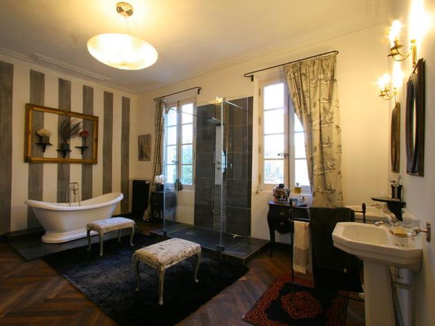 je veux le même à la maison : une salle de bains rétro - Salle De Bains Vintage