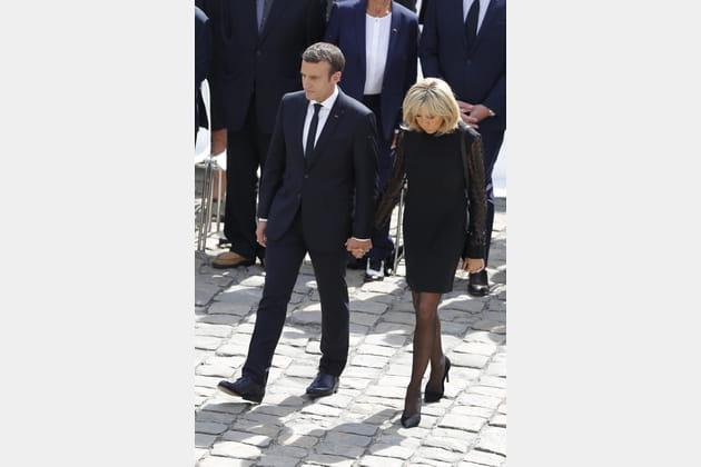 Brigitte Macron le 5juillet 2017