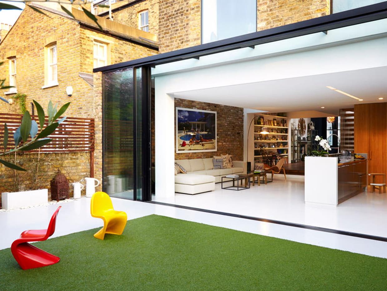 Une maison de famille so british for Deco maison de famille