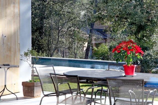 Bassin de nage en balcon