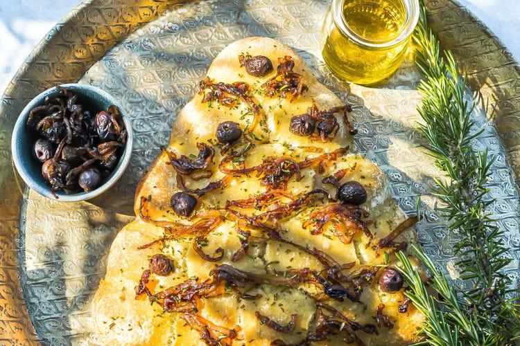 Sapin balls de Noël à l'huile d'olive de provence et olives maturées