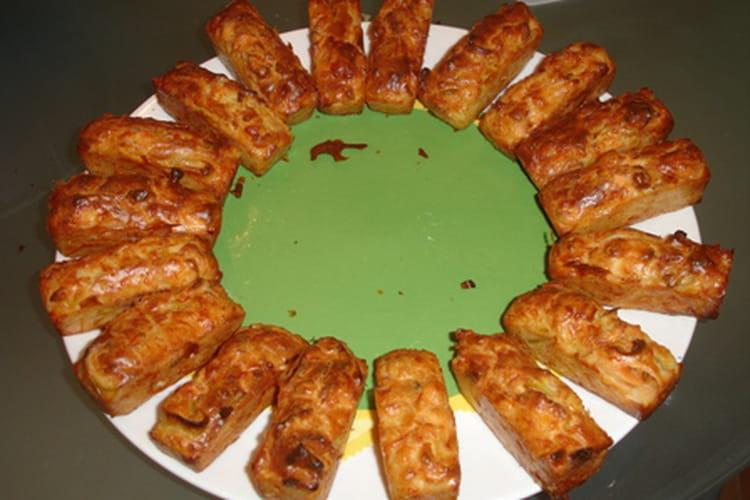 Minis cakes au saumon et poireaux